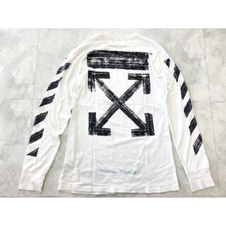 OFF-WHITE - Off-White BRUSHED ロングTシャツ オフホワイト MIYAVI