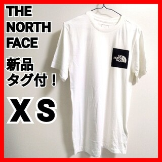 THE NORTH FACE - THE NORTH FACE Tシャツ新品未使用タグ付!ホワイト海外サイズXS
