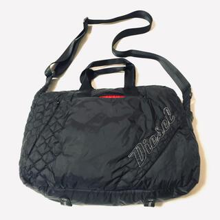 ディーゼル(DIESEL)の美品 DIESEL ディーゼル ナイロン 2way バッグ A4サイズ対応(ショルダーバッグ)