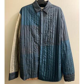 Jil Sander - OAMC キルティング シルク シャツジャケット
