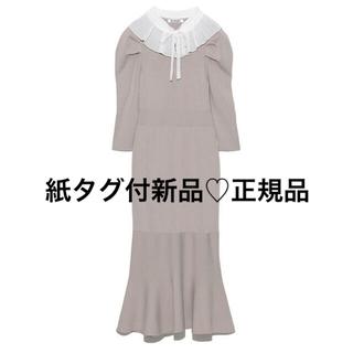snidel - プリーツカラーニットワンピース♡正規品