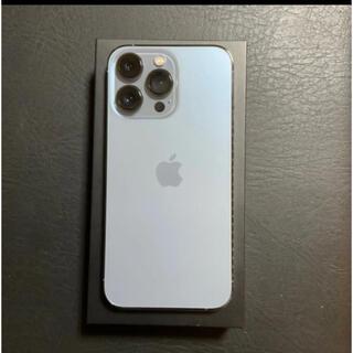 アイフォーン(iPhone)のiPhone 13 pro シエラブルー 256GB ストア版 SIMフリー(スマートフォン本体)