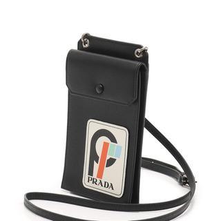 PRADA - Prada PRADA saffiano patch ショルダーバッグ