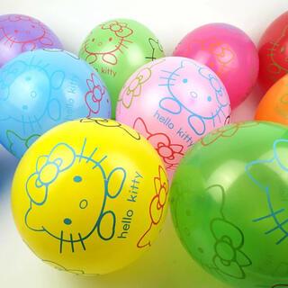 ハローキティ - ハローキティ 10個 カラフル 風船 サンリオ キティ バルーン お祝い 誕生日