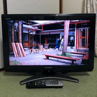 アクオス(AQUOS)の送料込♪美品/シャープ アクオス 26型液晶テレビ LC-26E8 2011年製(テレビ)