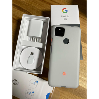 Google Pixel - 新品に近いPixel5a (5G) 純正ケース付き