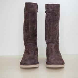 アグ(UGG)のイタリア製 UGG australia アグ 8サイズ ブラウン ムートンブーツ(ブーツ)