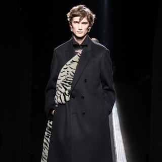 DIOR HOMME -  Dior homme 19 aw サイドスリットコート