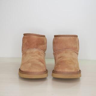 アグ(UGG)の良品 UGG australia アグ 24cm ブラウン  ムートンブーツ(ブーツ)