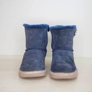 アグ(UGG)のUGG australia アグ 24cm 青系 ムートンブーツ(ブーツ)