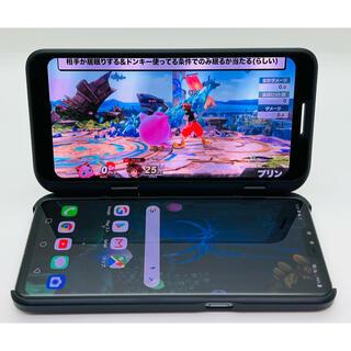 LG Electronics - [1373] LG V50 ThinQ 128GB 5G ブラック SIMフリー