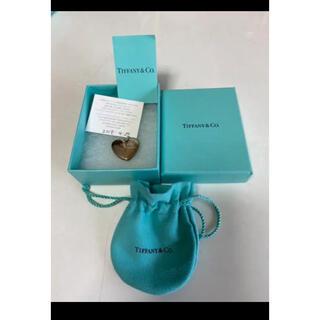 ティファニー(Tiffany & Co.)の美品ティファニーシルバーハートロケットチャーム(大)チャームのみ(チャーム)