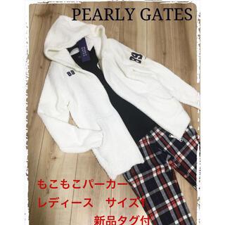 PEARLY GATES - パーリーゲイツ アルチビオ パーカー ブルゾン ジャケット ゴルフウェア 新品
