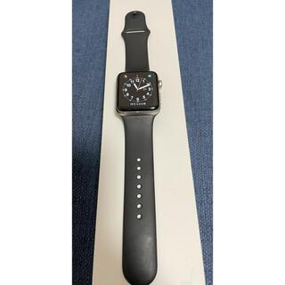 Apple Watch - Apple Watch series3 GPS スペースグレイ 42mm