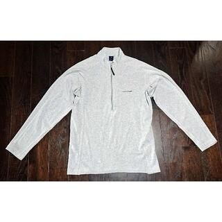 モンベル(mont bell)のWIC.ジップシャツ Men's M(色:ヘザーグレー/品番:1104366)(シャツ)