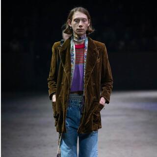 グッチ(Gucci)のGUCCI20aw ベルベットジャケット(テーラードジャケット)