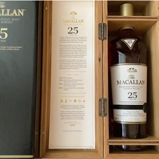 サントリー - The MACALLAN   25YEARS OLD  ザ マッカラン 25年