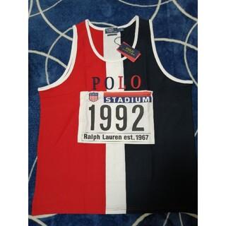POLO RALPH LAUREN - ラルフローレン POLO 1992  タンクトップ LDH スタジアム XL
