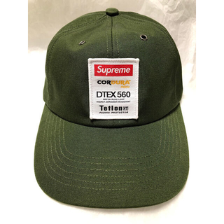 Supreme - Supreme 21AW Cordura Teflon Label 6Panel