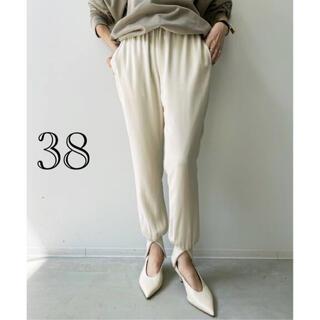 L'Appartement DEUXIEME CLASSE - 【Col Pierrot /コル ピエロ】Rib Pants(WH)  38