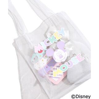 Disney - 最終価格 1750➜1500 WIGO 別注 Disney クリアトートバッグ