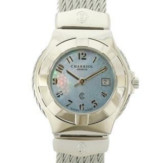 シャリオール(CHARRIOL)の【中古】シャリオール CHARRIOL 腕時計  ステンレススチール(腕時計)