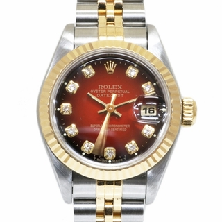 ROLEX - 【中古】ロレックス ROLEX 腕時計 W番 1994~1995年式 レッドグラ