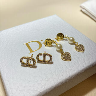 Dior - Dior ピアス ハート パール