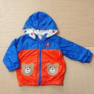 ミキハウス(mikihouse)のミキハウス リバーシブルジャンパー 80サイズ(ジャケット/コート)