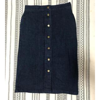 レプシィム(LEPSIM)のデニムタイトスカート(ひざ丈スカート)