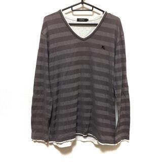 バーバリーブラックレーベル(BURBERRY BLACK LABEL)のバーバリーブラックレーベル 長袖Tシャツ 3(Tシャツ/カットソー(七分/長袖))
