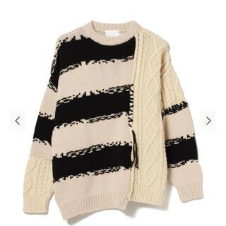 ワンエルディーケーセレクト(1LDK SELECT)のROTOL franken crewneck knit L(ニット/セーター)