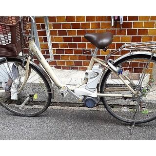 Panasonic - 激安!Panasonic3段変速電動アシスト自転車!特殊テンプルキー&充電器付き