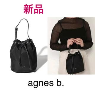 agnes b. - 新品 アニエスベー 巾着ショルダーバッグ 2way