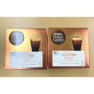 Nestle - 2箱 ネスカフェ ドルチェグスト カプセル 有機レギュラーコーヒー コロンビア