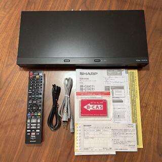 SHARP - SHARP AQUOS ブルーレイディスクレコーダー 2B-C20CW1