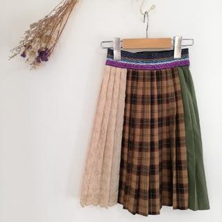 ゴートゥーハリウッド(GO TO HOLLYWOOD)のゴートゥーハリウッド プリーツスカート 110(スカート)