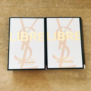 イヴサンローランボーテ(Yves Saint Laurent Beaute)のリブレ オードトワレ サンプル(香水(女性用))