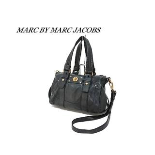 マークバイマークジェイコブス(MARC BY MARC JACOBS)のMARC BY MARC JACOBS 2wayバッグ ブラック レザー(ショルダーバッグ)