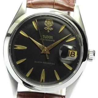 チュードル(Tudor)のチュードル オイスター デカバラ デイト 7934 手巻き メンズ 【中古】(腕時計(アナログ))