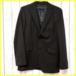 KATHARINE HAMNETT - KATHARINE HAMNETT  ストライプ ブラック スーツ M