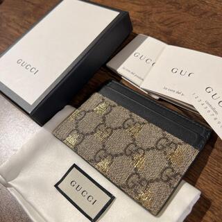 Gucci - 【付属品あり】GUCCI GGスプリーム 蜂 カードケース