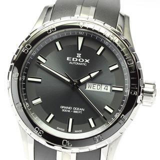 エドックス(EDOX)のエドックス グランドオーシャン 88002-3CA-NIN メンズ 【中古】(腕時計(アナログ))