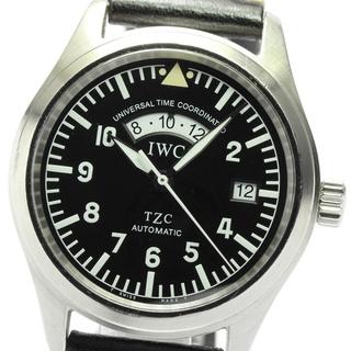 インターナショナルウォッチカンパニー(IWC)のIWC フリーガーUTC デイト IW325101 メンズ 【中古】(腕時計(アナログ))