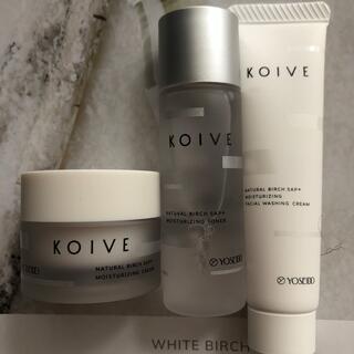 コイヴ トライアルセット 化粧品 化粧水 乳液 美容液 バック 美白 薬用 洗顔
