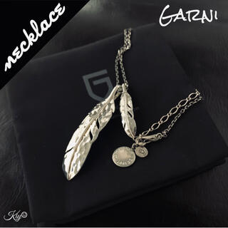 GARNI - 廃盤・カスタム品★Garni【ガルニ】フェザー ペンダント ネックレス