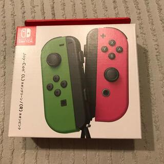 Switch  joy-con ネオンレッド /ネオンブルー 新品(家庭用ゲーム機本体)
