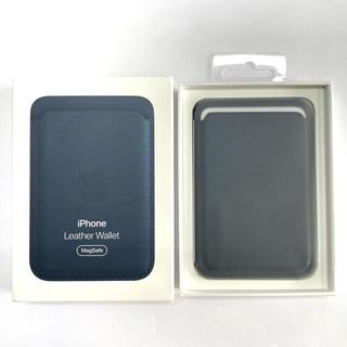 Apple - apple純正 magsafe iphoneレザーウォレット wallet