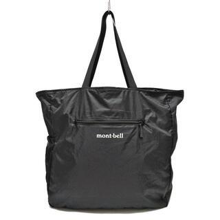 モンベル(mont bell)のモンベル トートバッグ - 黒×白 ナイロン(トートバッグ)