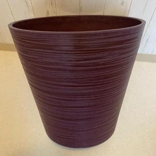 植木鉢 大型 紫(プランター)